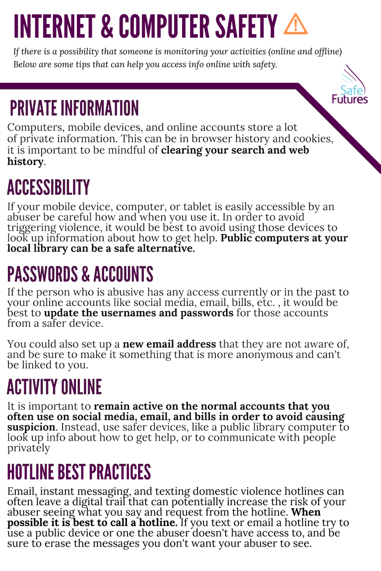 internet safety info
